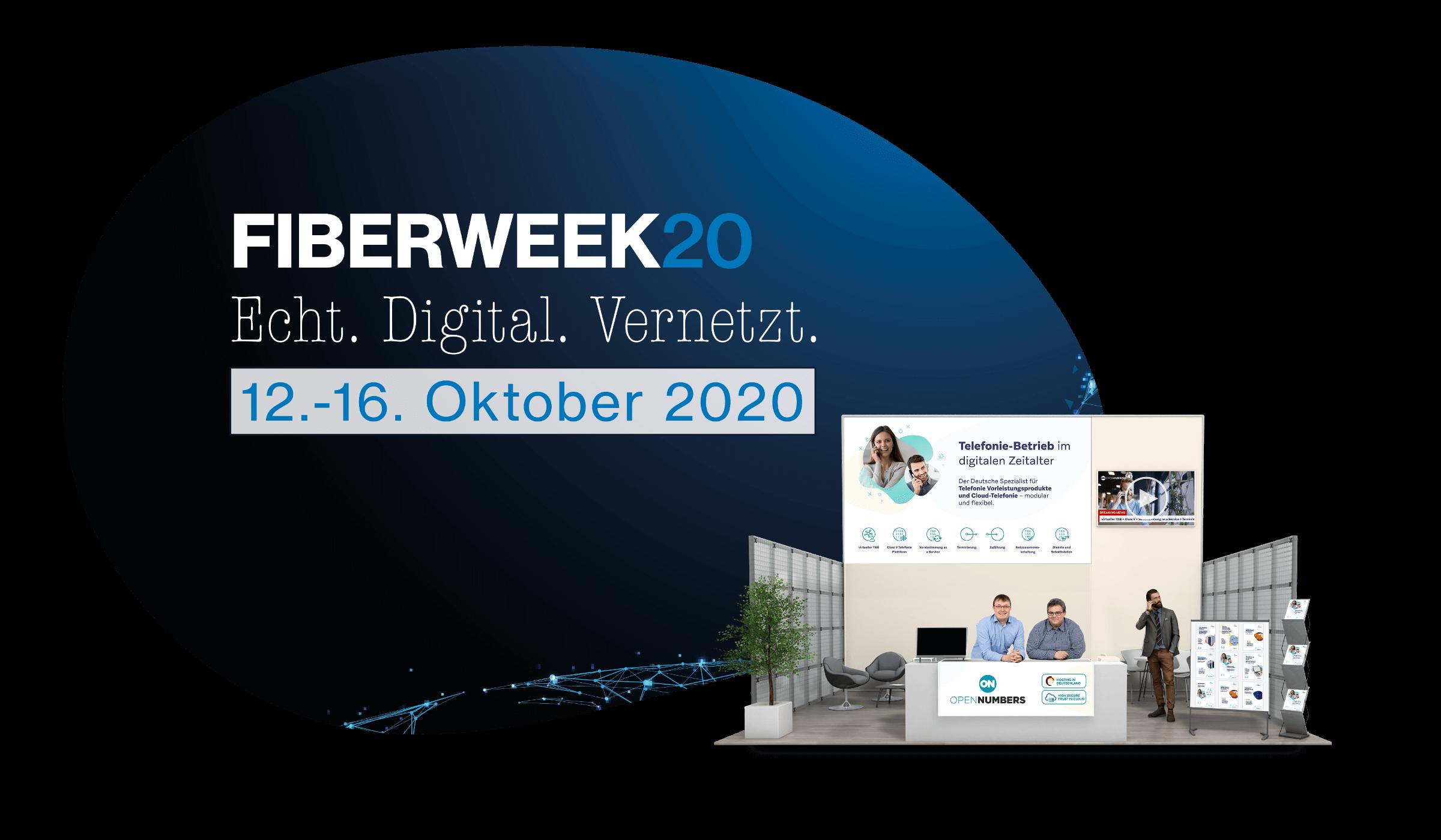 OpenNumbers auf der virtuellen FiberWeek2020